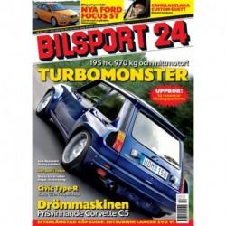 Bilsport nr 24  2005