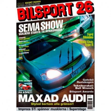 Bilsport nr 26  2003