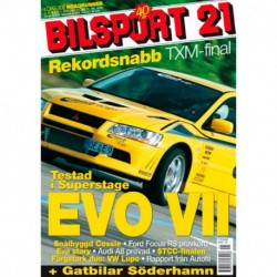 Bilsport nr 21  2002