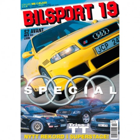 Bilsport nr 19  2001