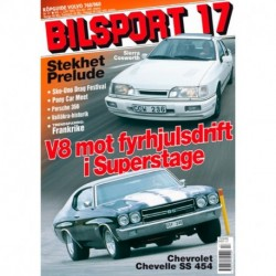 Bilsport nr 17  2001