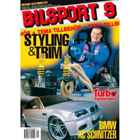 Bilsport nr 9  2001