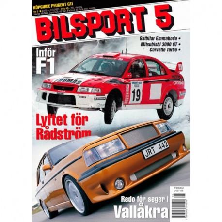 Bilsport nr 5  2001