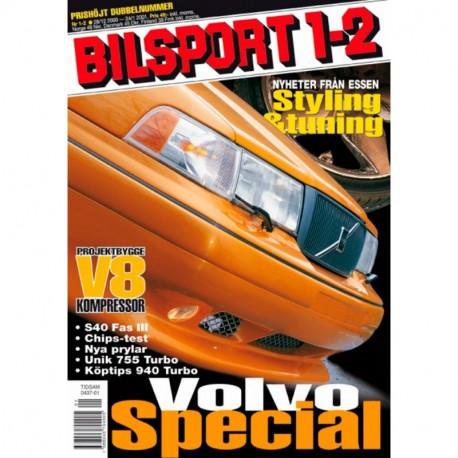 Bilsport nr 1  2001