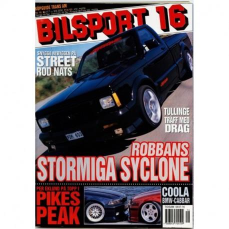 Bilsport nr 16  2000