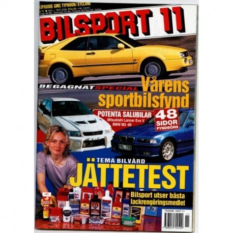 Bilsport nr 11  2000