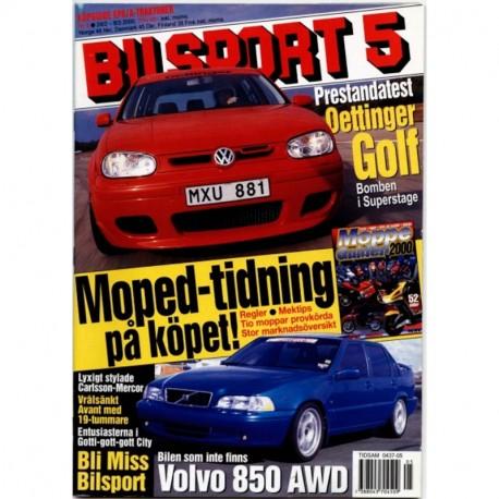 Bilsport nr 5  2000