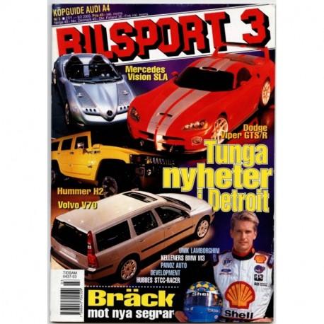 Bilsport nr 3  2000