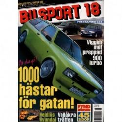 Bilsport nr 18  1999