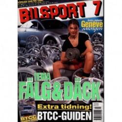 Bilsport nr 7  1999