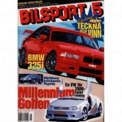 Bilsport nr 5  1999