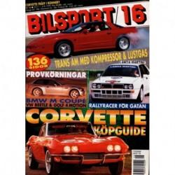 Bilsport nr 16  1998