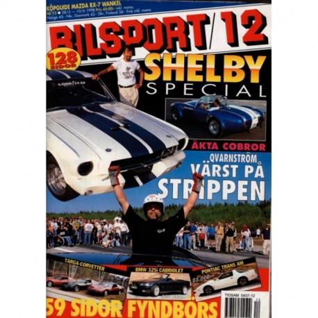 Bilsport nr 12  1998