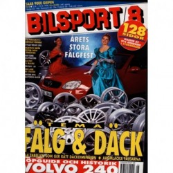 Bilsport nr 8  1998