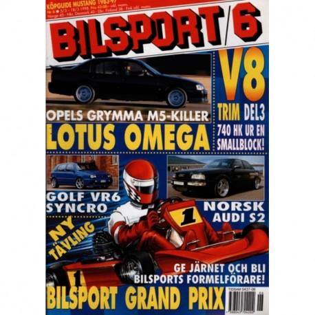 Bilsport nr 6  1998