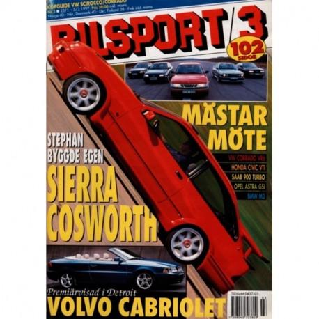 Bilsport nr 3  1997