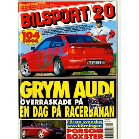 Bilsport nr 20  1996
