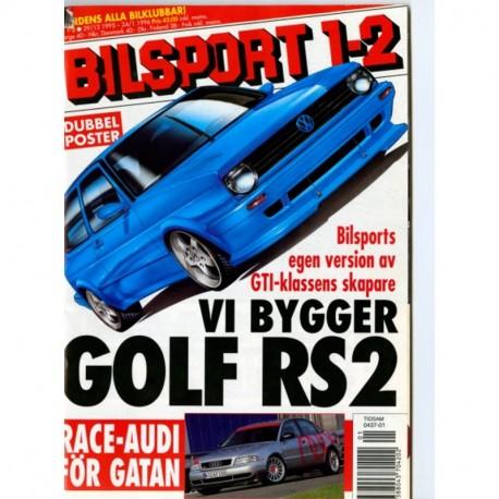 Bilsport nr 1  1996