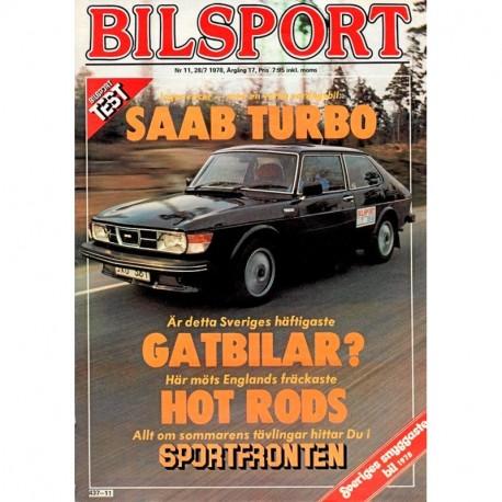 Bilsport nr 11  1978