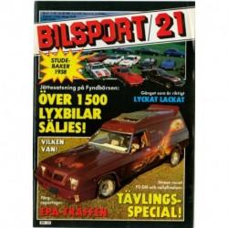 Bilsport nr 21  1981