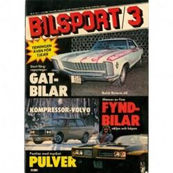 Bilsport nr 3  1981
