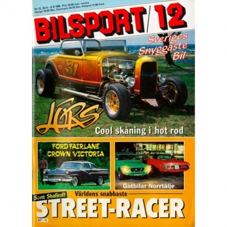 Bilsport nr 12  1985