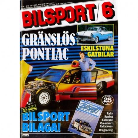 Bilsport nr 6  1987