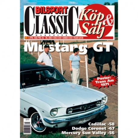 Bilsport Classic nr 4  2005