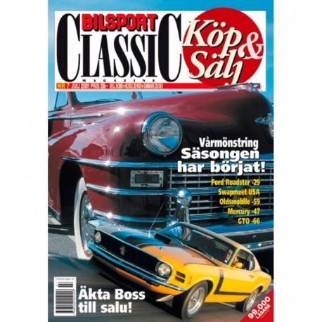 Bilsport Classic nr 7  2001