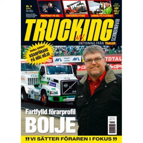 Trucking Scandinavia nr 4  2004