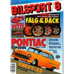 Bilsport nr 8  1992