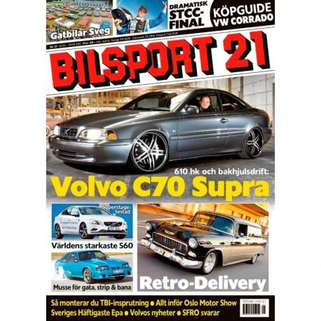 Bilsport nr 21 2011