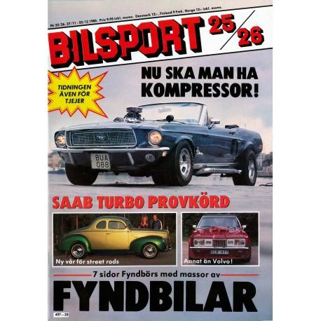 Bilsport nr 25  1980