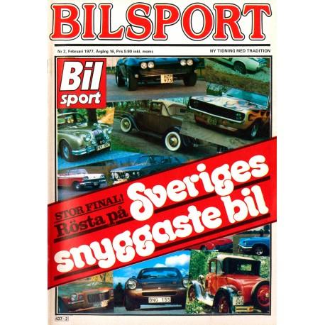 Bilsport nr 2  1977