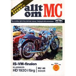 Allt om MC nr 4  1970