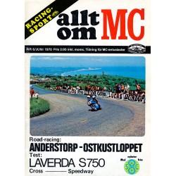 Allt om MC nr 6  1970