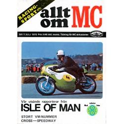 Allt om MC nr 7  1970