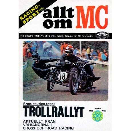 Allt om MC nr 9  1970