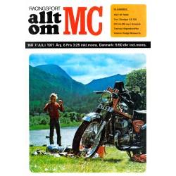 Allt om MC nr 7  1971