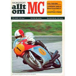 Allt om MC nr 10  1972