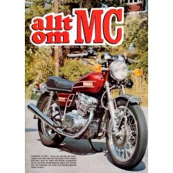 Allt om MC nr 10  1973