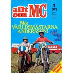 Allt om MC nr 1  1974