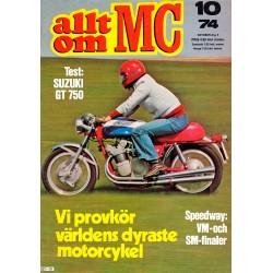 Allt om MC nr 10  1974