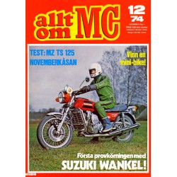 Allt om MC nr 12  1974