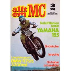 Allt om MC nr 3  1974