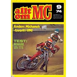 Allt om MC nr 9  1974