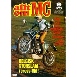 Allt om MC nr 9  1975