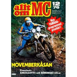 Allt om MC nr 12  1976