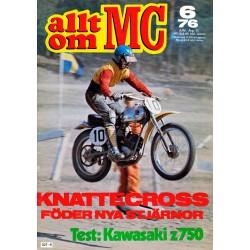 Allt om MC nr 6  1976