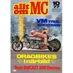 Allt om MC nr 10  1977